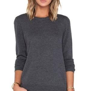Rag and Bone Jeans Natalie Sweater Charcoal Size S